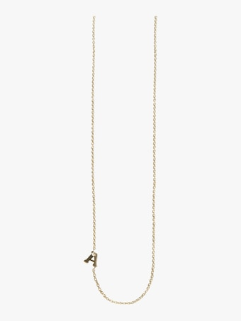 Anzie Love Letter Single Diamond Necklace 2