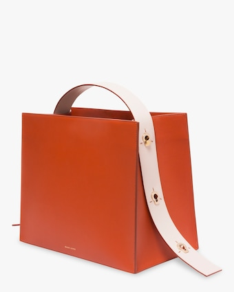 Young Leather Tote Bag