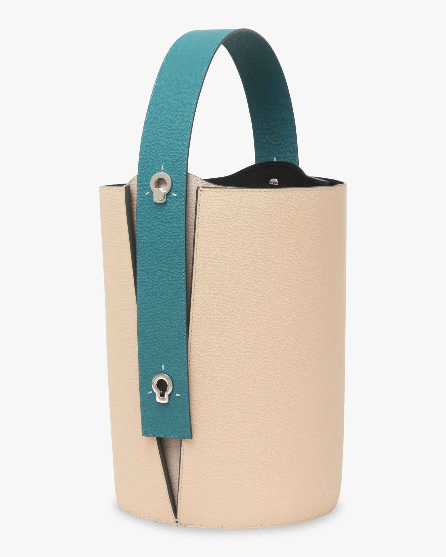 Mini Lorna Leather Bucket Bag Danse Lente