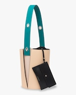 Danse Lente Mini Lorna Leather Bucket Bag 4
