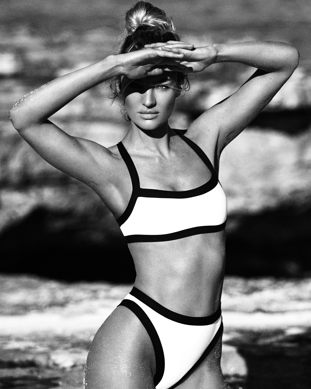 Tropic of C Volley High Waist Bikini Bottom 1
