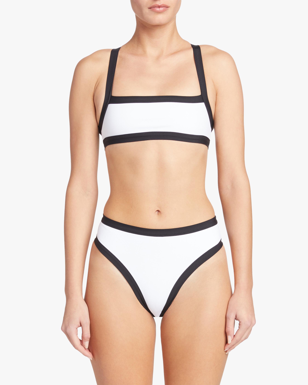Tropic of C Volley High Waist Bikini Bottom 2