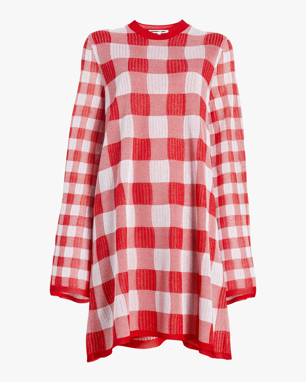 Printed Checkerboard Dress