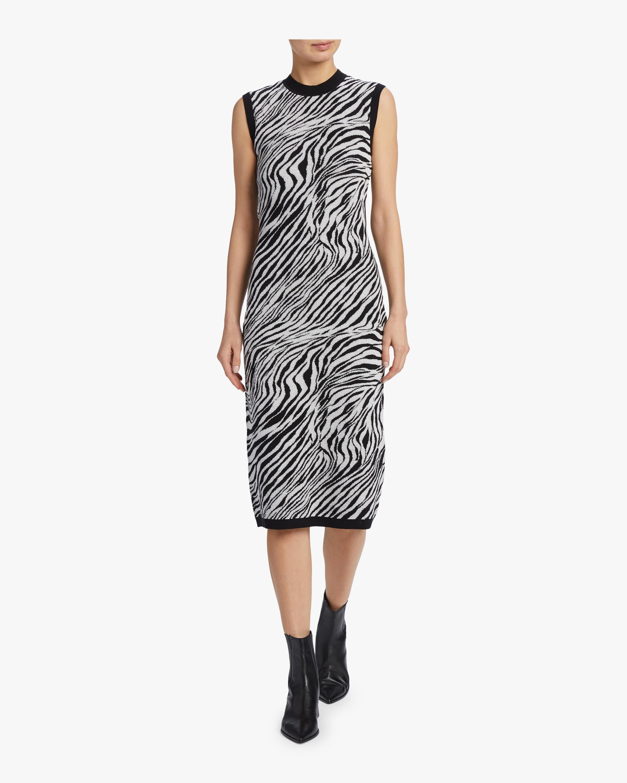 McQ Alexander McQueen Zebra Tube Dress 2