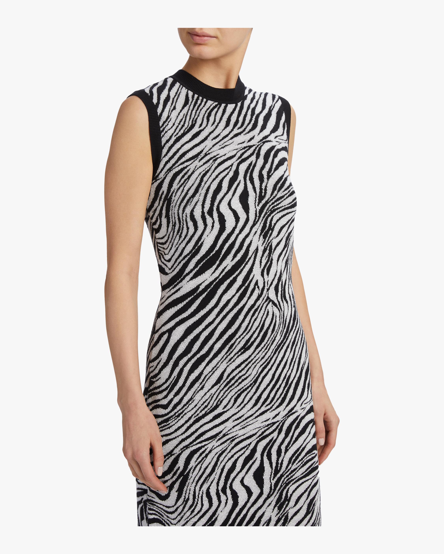 McQ Alexander McQueen Zebra Tube Dress 3