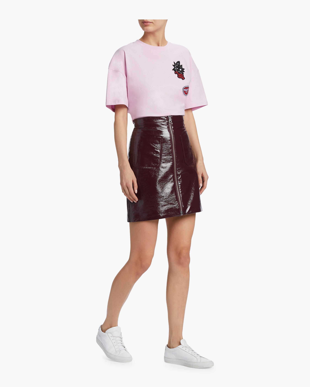 McQ Alexander McQueen Front Zip Mini Skirt 1