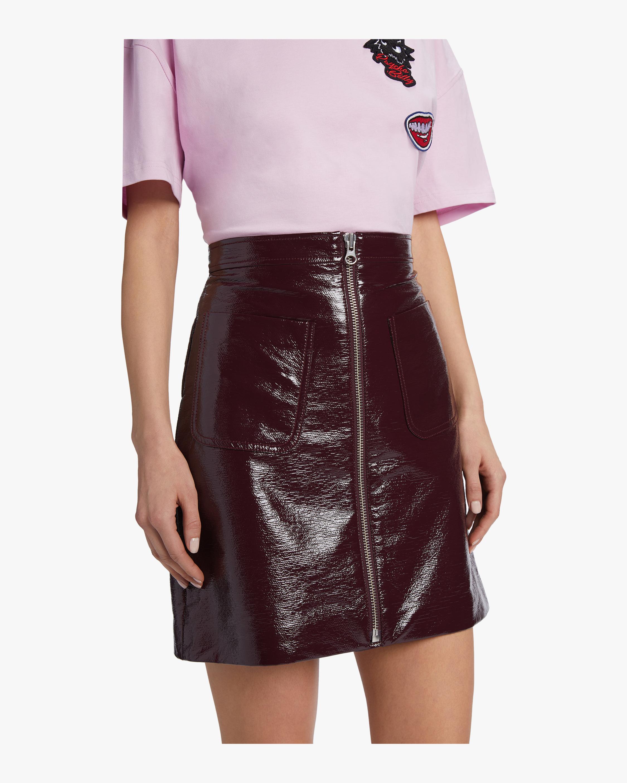 McQ Alexander McQueen Front Zip Mini Skirt 3