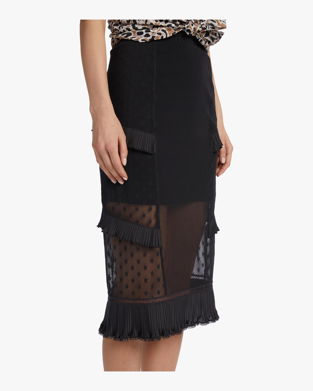 McQ Alexander McQueen Ruffle Lingerie Skirt 3