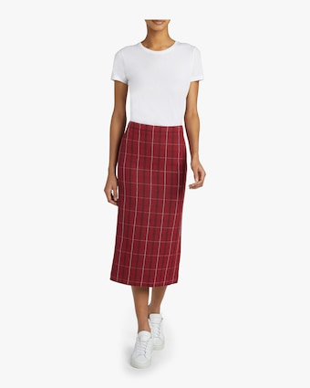 Kick Back Godet Skirt