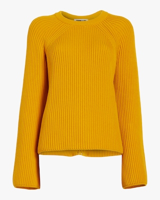 McQ Alexander McQueen Lace Up Knit Sweater 1