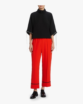 McQ Alexander McQueen Flared Turtleneck Top 2