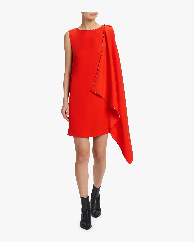 McQ Alexander McQueen Sleeveless Cascade Dress 1