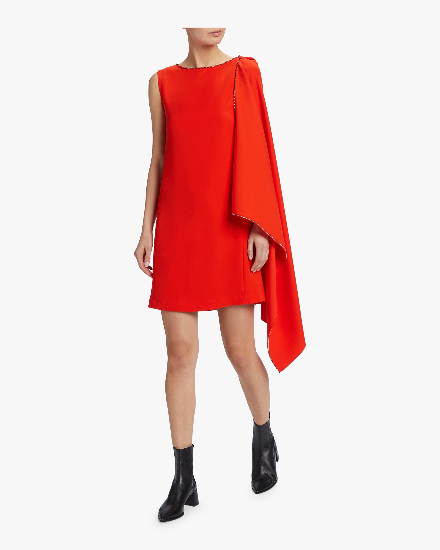 McQ Alexander McQueen Sleeveless Cascade Dress 2