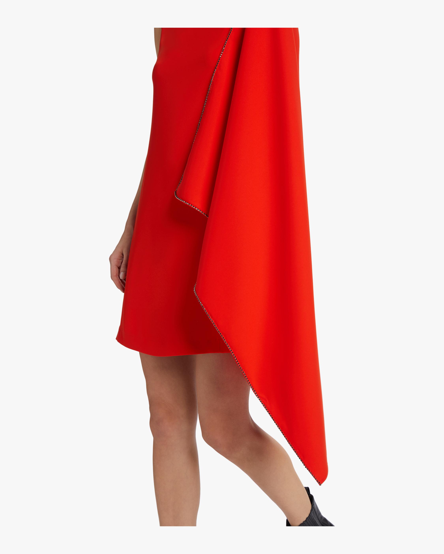 McQ Alexander McQueen Sleeveless Cascade Dress 4