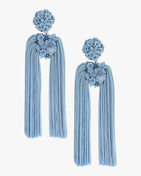 Fleur Dopios Clip On Earrings