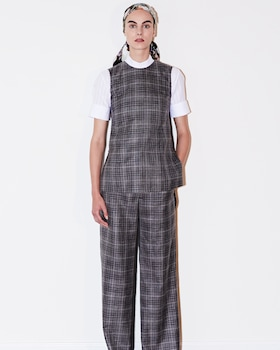 Loro Piana Plaid Trousers