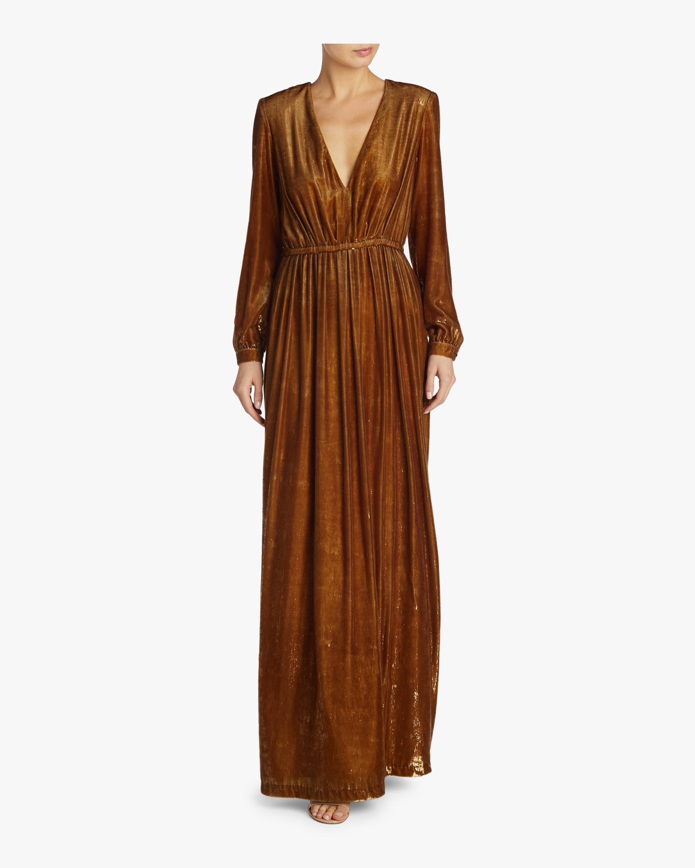Liquid Velvet Gown
