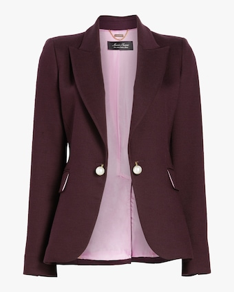 Double Face Wool Tailored Blazer