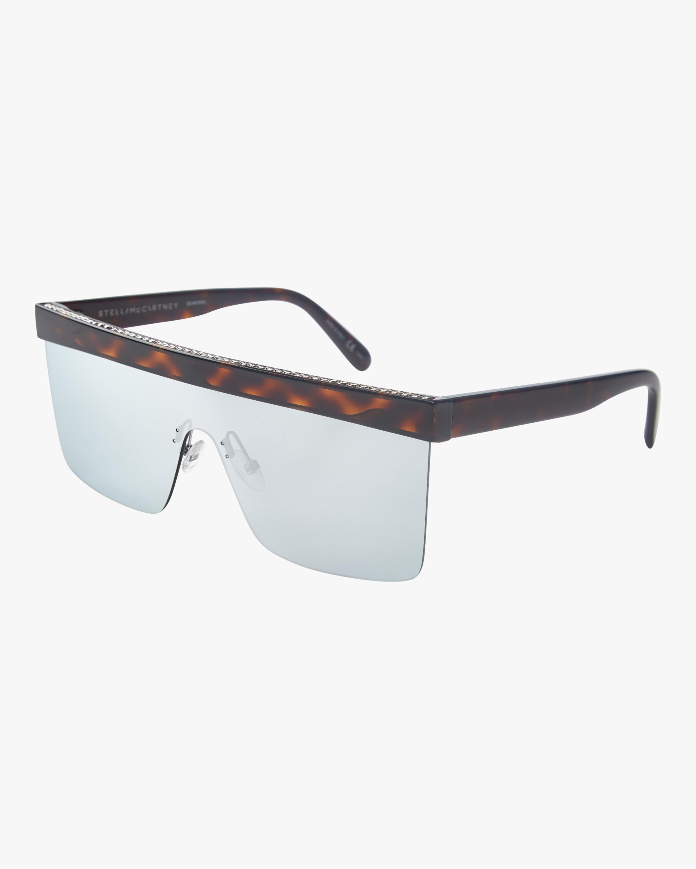 Flat Top Shield Sunglasses Stella McCartney