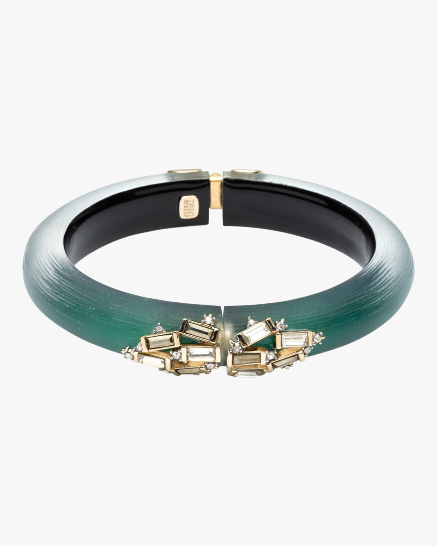 Crystal Baguette Cluster Bracelet