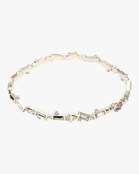 Crystal Baguette Bangle