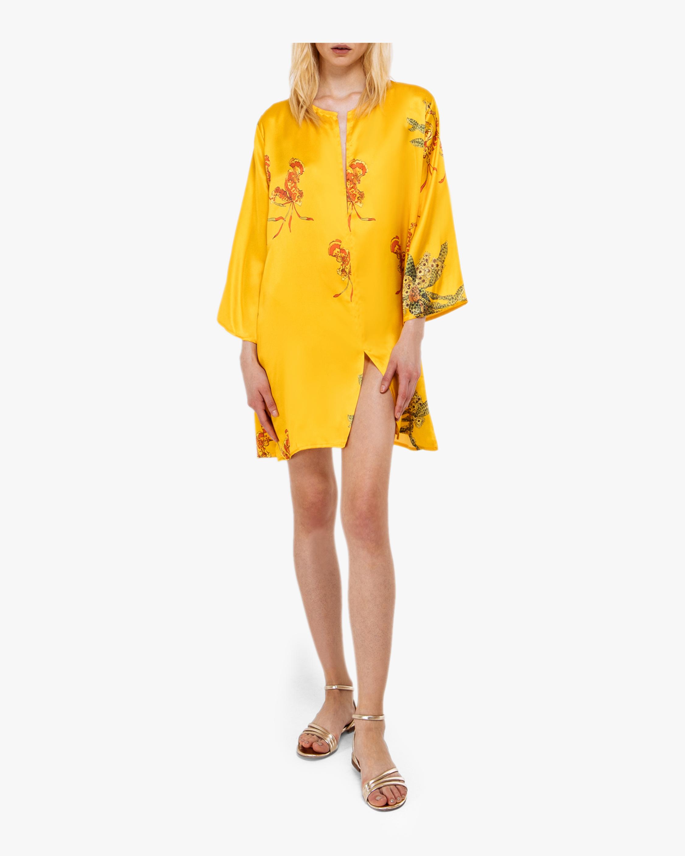 Yasmina Silk Satin Dress