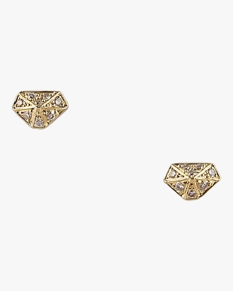Mini Diamond Shape Studs