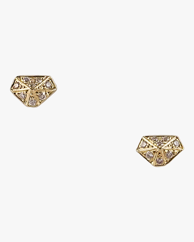 Harika Mini Diamond Shape Studs 1