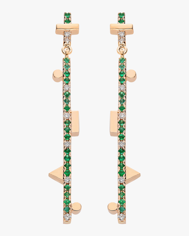 Harika Dangling Stick Earrings 0