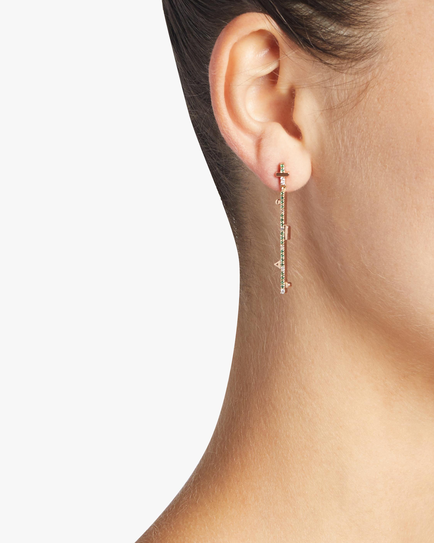 Dangling Stick Earrings
