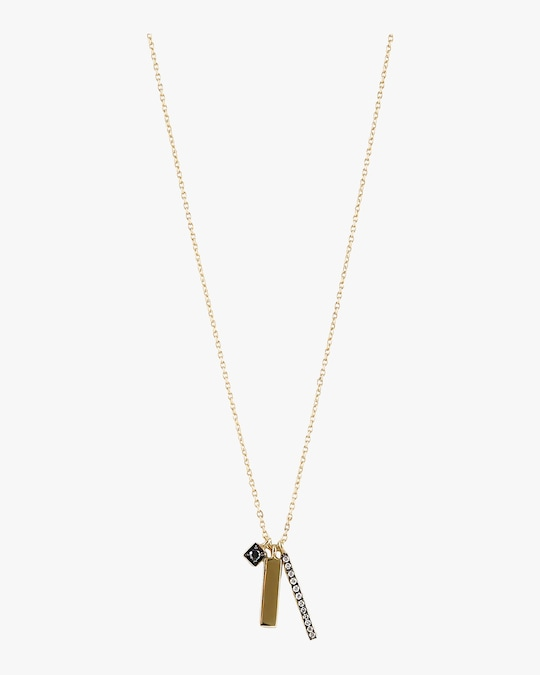 Harika Dimond Sticks Necklace 0