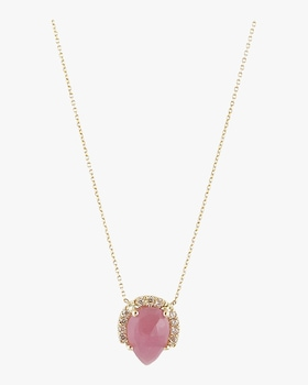 Mini Pink Sapphire Necklace