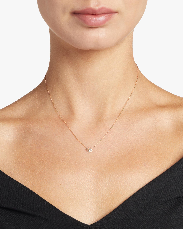 Harika Elongated Hexagon Necklace 2