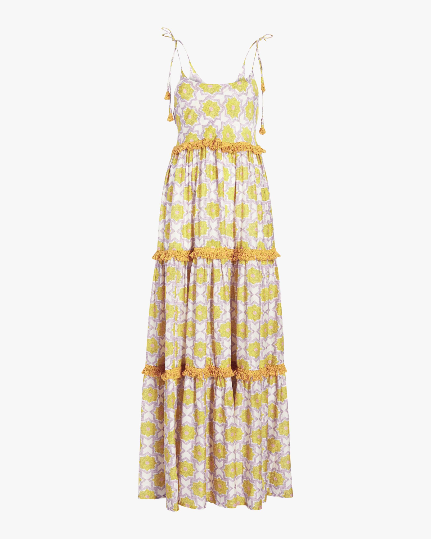 Verandah Wanderlust Tiered Maxi Dress 0