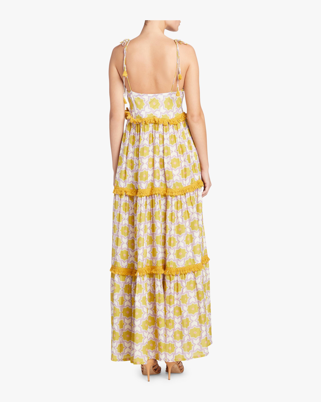 Verandah Wanderlust Tiered Maxi Dress 3