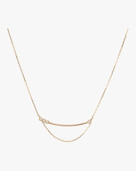 Asymmetrical Bar Necklace