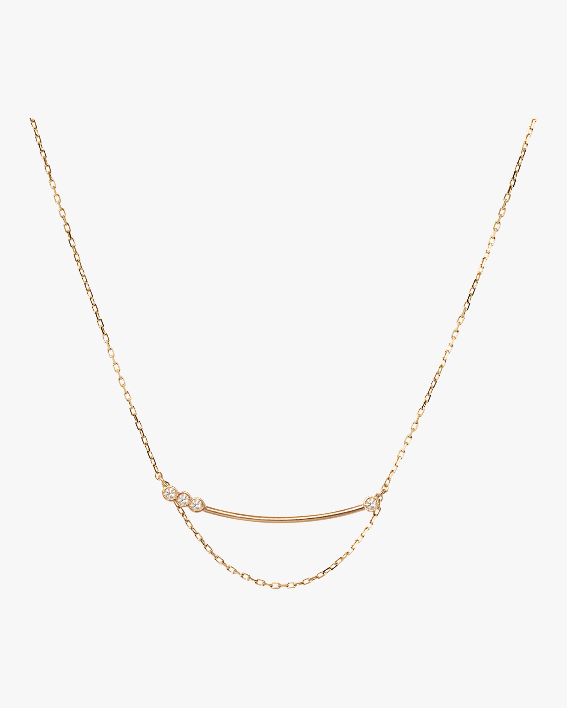 Sophie Ratner Asymmetrical Bar Necklace 2