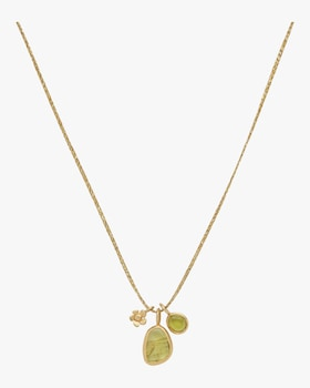 Double Colette Pendant Necklace