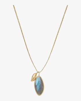 Gold Drop Colette Pendant Necklace