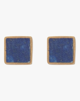 Small Turquoise Square Studs