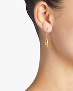 Pippa Small Burmese Shell Earrings 1
