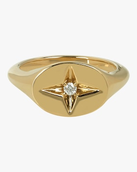 Guiding Star Pinky Ring