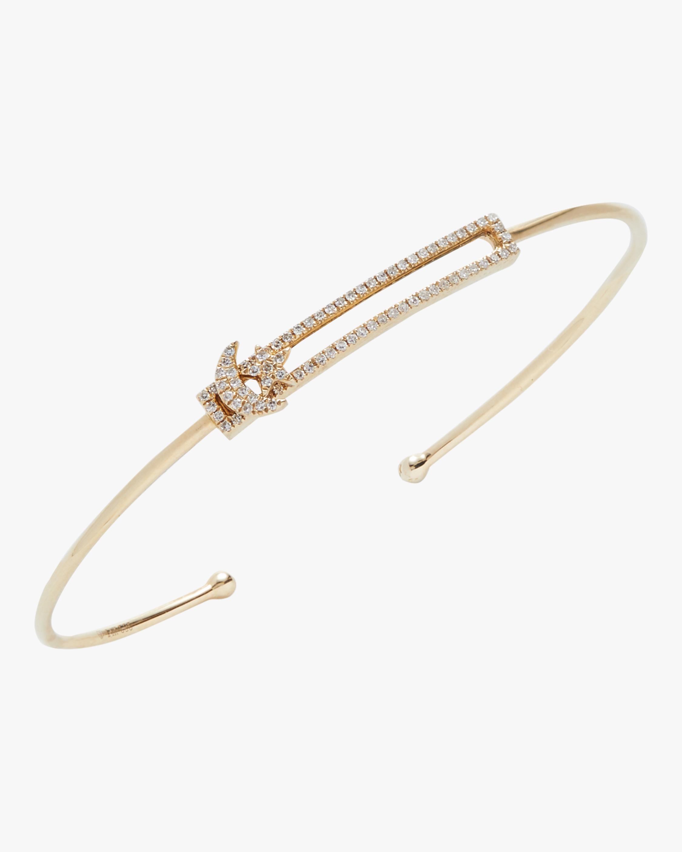 Star and Moon Bangle Bracelet