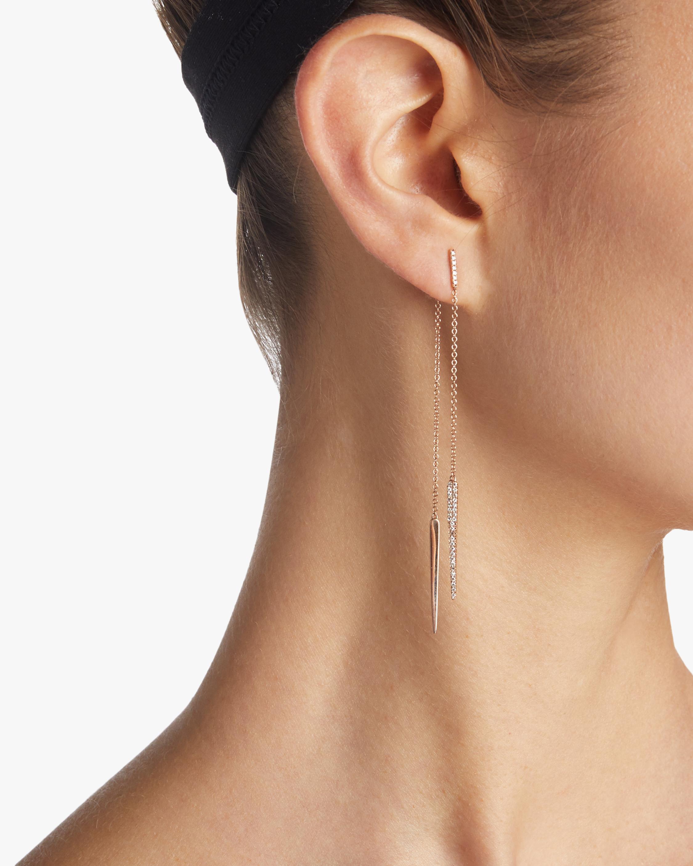 Hanging Spears Earrings