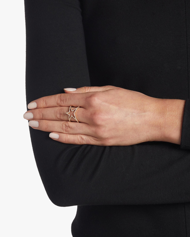 Open Star Diamond Ring