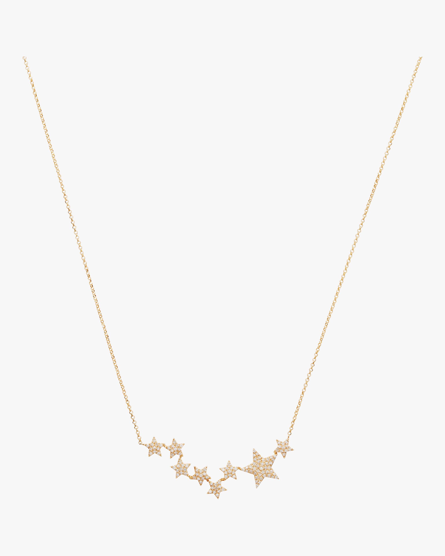 Climbing Stars Diamond Necklace
