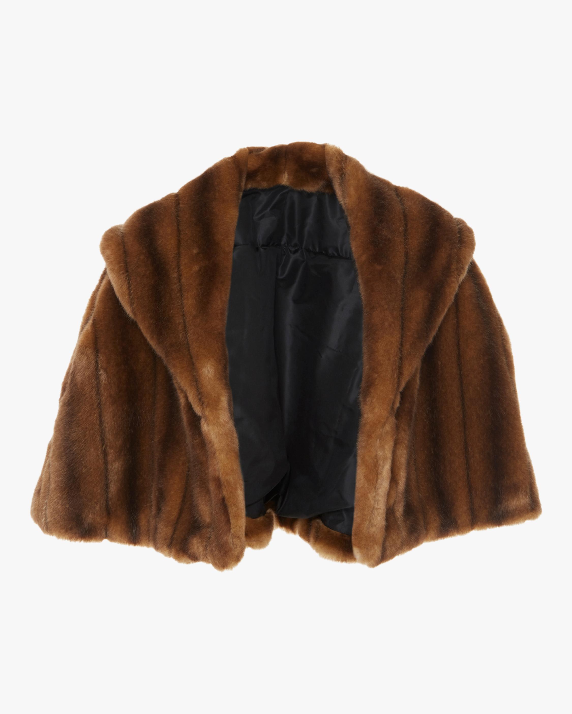 Classy Eco Fur Cape