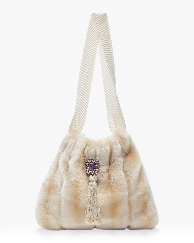 Francipani Eco Fur Handbag