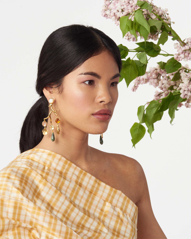 Lizzie Fortunato Relic Chandelier Earrings 2