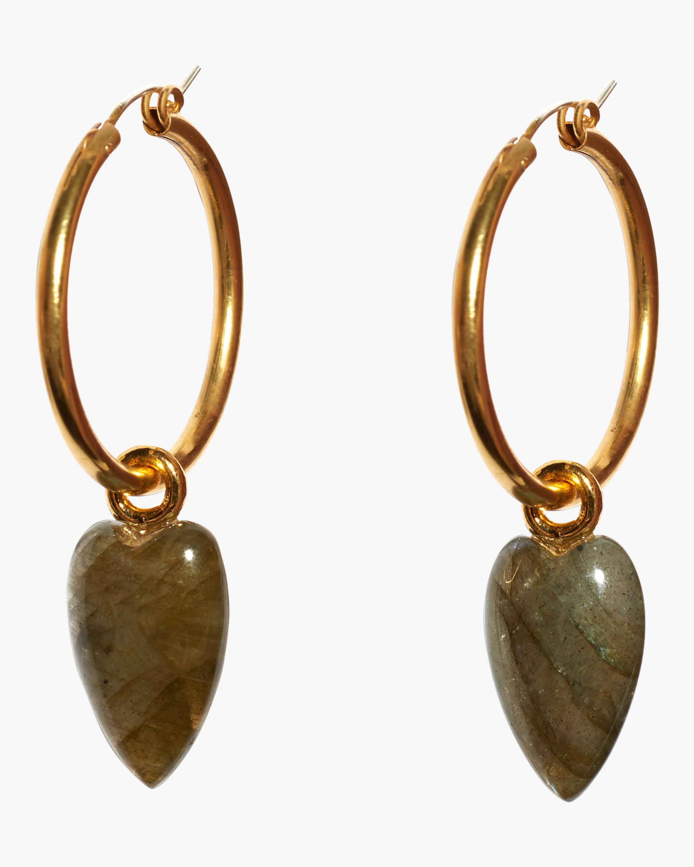 Hoop and Dagger Earrings